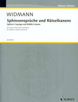 Jörg Widmann: Sphynx's Sayings and Riddle Canons