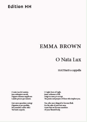 Emma Brown: O Nata Lux