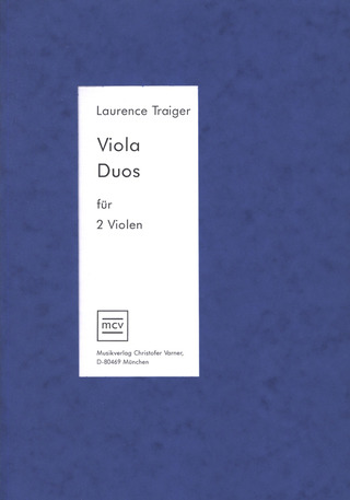 Laurence Traiger: Viola Duos