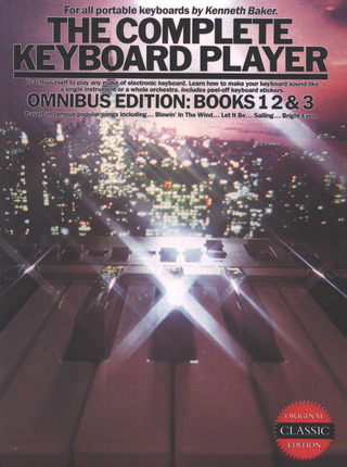 Kenneth Baker: Complete Keyboard Player 1 2 3
