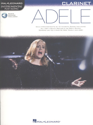 Adele Adkins: Hal Leonard Instrumental Play-Along: Adele - Clarinet (Book/Online Audio)