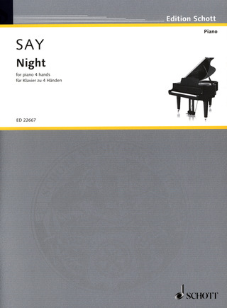 Fazıl Say: Night op. 68