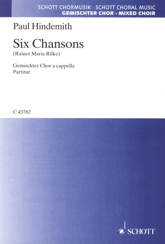 Paul Hindemith: Six Chansons