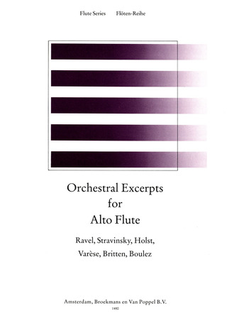 Orchestral Excerpts For Alto Flute