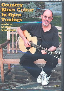Stefan Grossman: Country Blues Guitar In Open Tunings (Grossman) Dvd