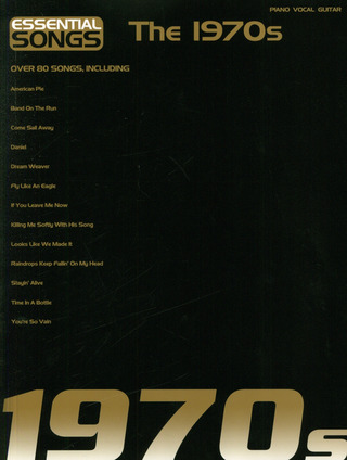 Essential Songs: The 1970S Pvg Book