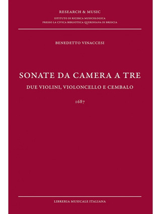 Benedetto Vinaccesi: Sonate da camera a tre