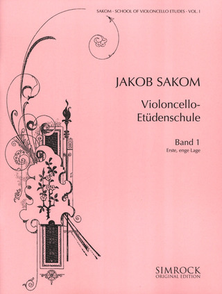 Jakob Sakom: School of Violoncello Etudes