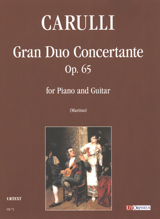 Ferdinando Carulli: Gran Duo Concertante op. 65 for Piano and Guitar