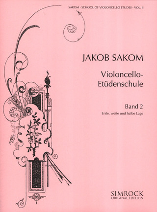 Jakob Sakom: School of Violoncello Etudes 2