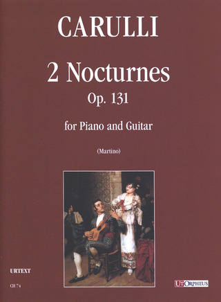 Ferdinando Carulli: 2 Notturni op. 131 for Piano and Guitar