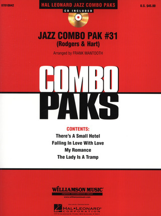 Richard Rodgers: Jazz Combo Pak #31