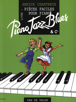 Annick Chartreux: Piano Jazz Blues 2