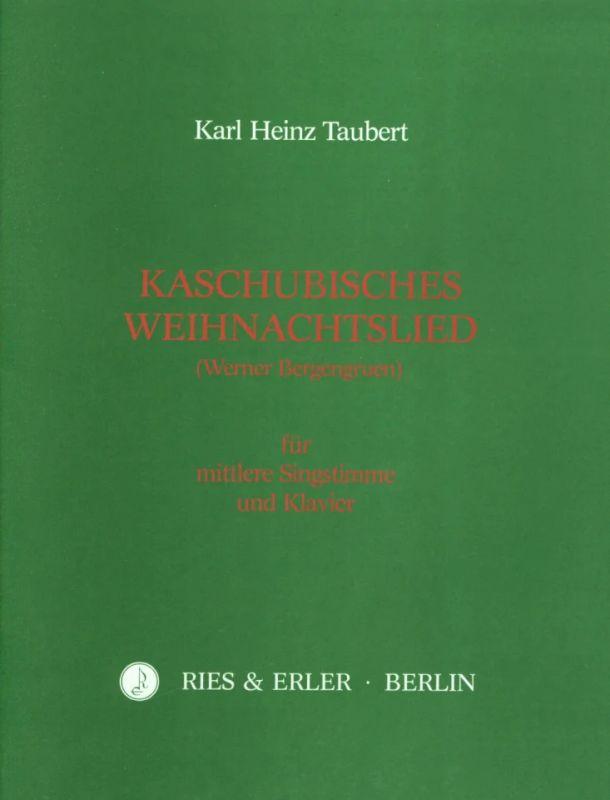Kaschubisches Weihnachtslied Von Taubert Karl Heinz Im