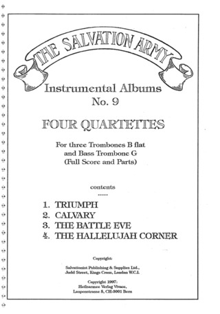 Trombone | Score and parts | Stretta Sheet Music Shop