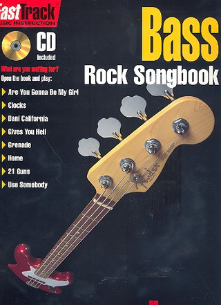 FastTrack Bass – Rock Songbook