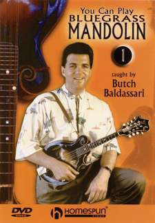 Baldassari Butch: You Can Play Bluegrass Mandolin 1