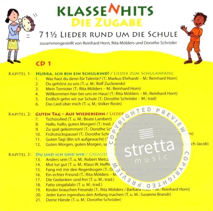 Klassenhits Die Zugabe Von Reinhard Horn Et Al Im