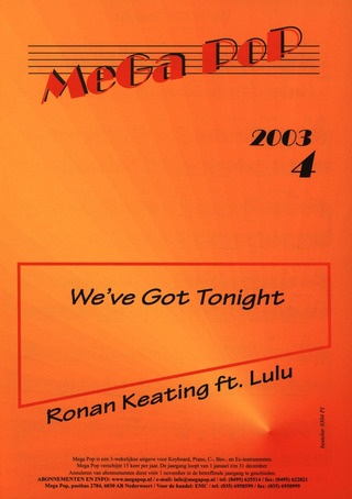 Keating Ronan + Jeanette: We'Ve Got Tonight