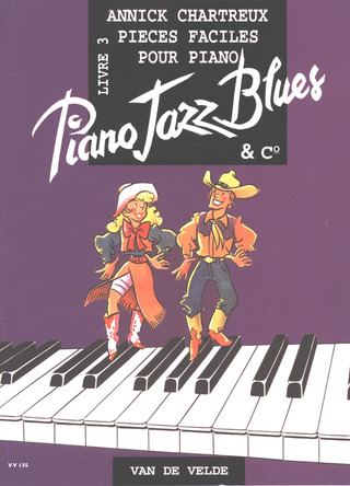 Chartreux Annick: Piano Jazz Blues & Co vol.3