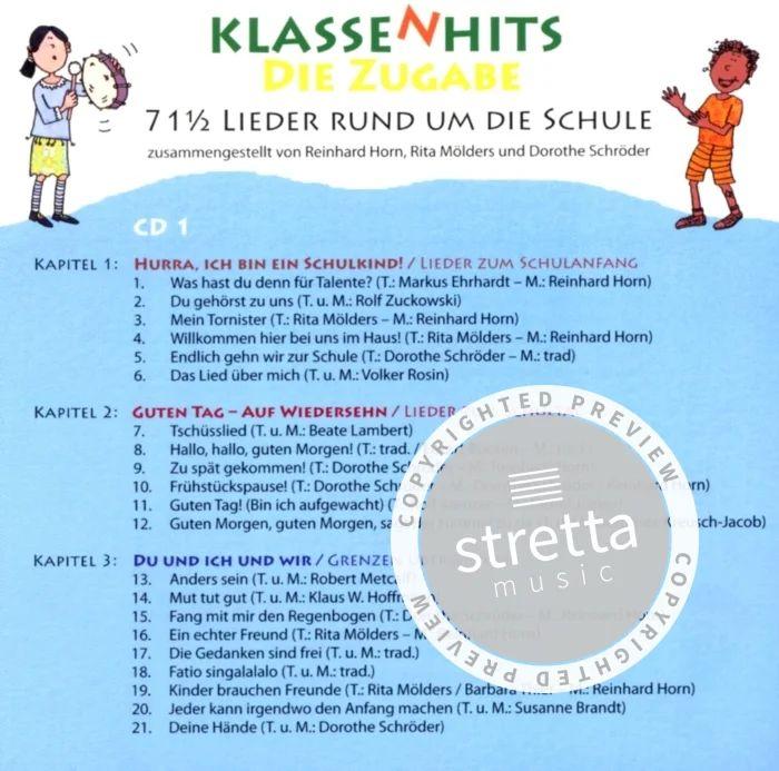 Klassenhits Die Zugabe De Reinhard Horn Et Al Acheter