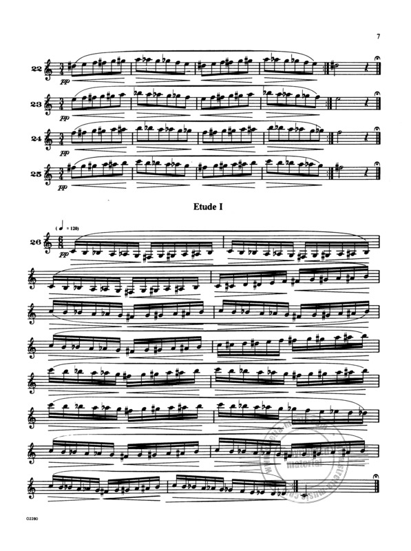 Herbert Lincoln Clarke: Technical Studies for the Cornet (2)