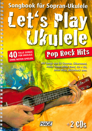 Let's Play Ukulele Pop Rock Hits + 2 CDs