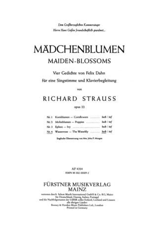 Richard Strauss: Wasserrose