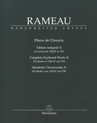 Jean-Philippe Rameau: Complete Keyboard Works 2