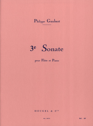 Philippe Gaubert: Sonate Nr. 3
