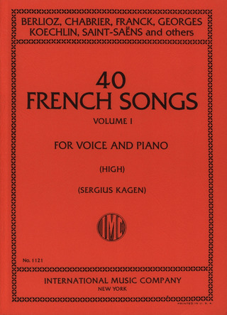 40 French Songs 1