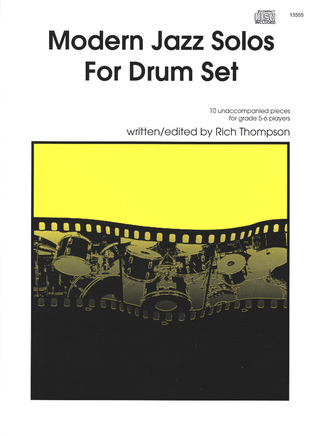 Rich Thompson: Modern Jazz Solos for Drum Set