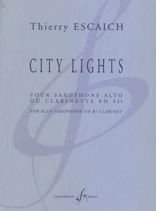 Thierry Escaich: City Lights