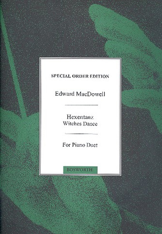 Edward MacDowell: Witches Dance Op.17 No.2