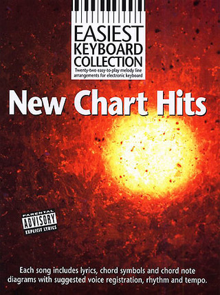 Easiest Keyboard Collection: Chart Busters! Kbd Book