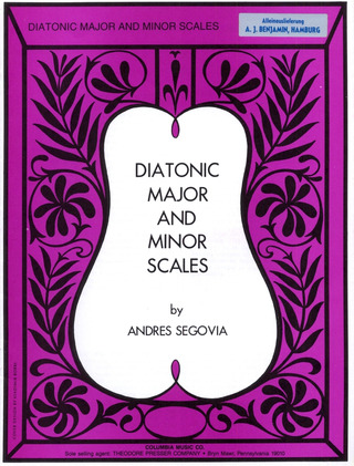 Segovia Andres: Diatonic Major + Minor Scales