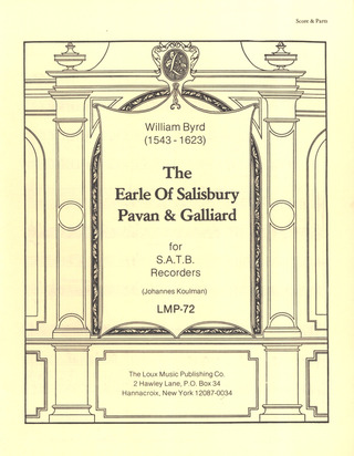 William Byrd: The Earl Of Salisbury Pavan