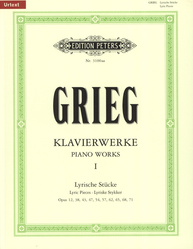 Edvard Grieg: Piano Works 1