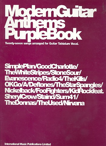 Modern Guitar Anthems Purple Book
