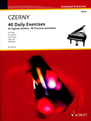 Carl Czerny: 40 Daily Exercises op. 337