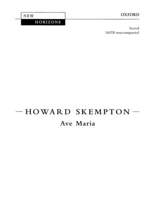 Howard Skempton: Ave Maria