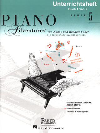 Nancy Faber et al.: Piano Adventures: Unterrichtsheft 5