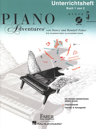 Nancy Faber et al.: Piano Adventures 5 – Unterrichtsheft