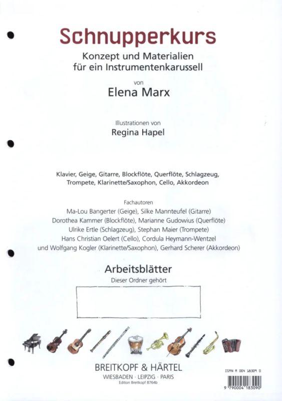 Schnupperkurs Arbeitsblätter Von Elena Marx Im Stretta