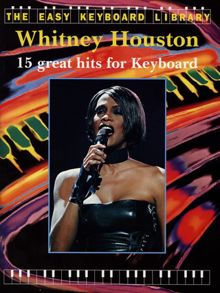 Whitney Houston: 15 Great Hits For Keyboard