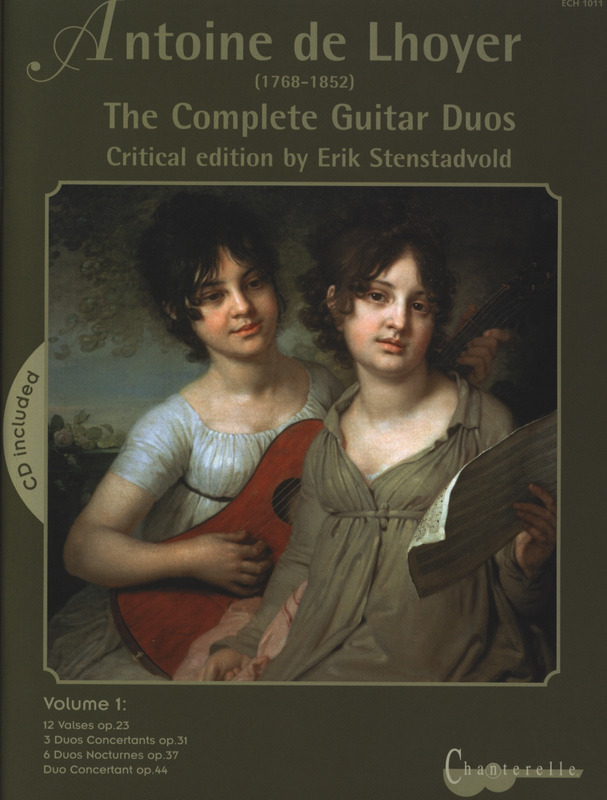 Antoine de Lhoyer: The Complete Guitar Duos 1