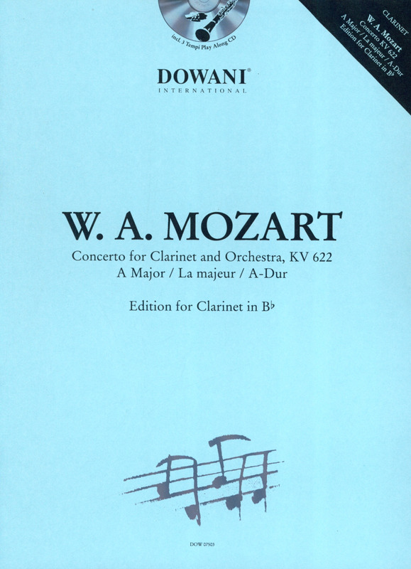 Wolfgang Amadeus Mozart: Concerto KV 622 in a-major
