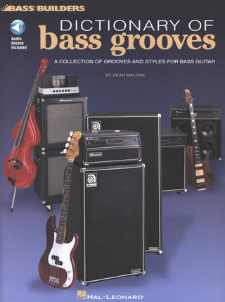 Malone Sean: Dictionary Of Bass Grooves (Malone) Bgtr Book/Cd
