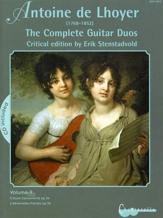Antoine de Lhoyer: The Complete Guitar Duos 3