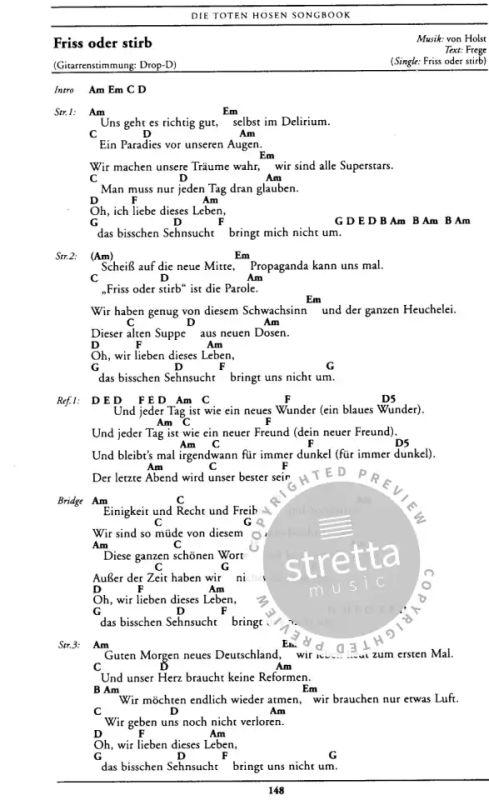 Zehn Kleine Jagermeister By Die Toten Hosen Album Lyrics